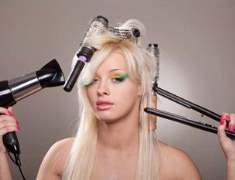 Saç kurutma işlemi korkulan zarara yol açmadan yapılabilir