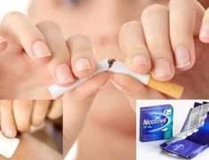 Nikotin Bandı ve Sakızı Sigarayı Bıraktırmıyor