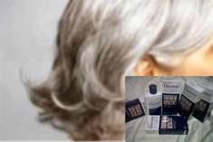 Beyaz Saç Giderici Ürün Uyarısı