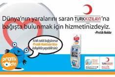 Türk Kızılayı na Bağış Yapmak Şimdi Daha Pratik