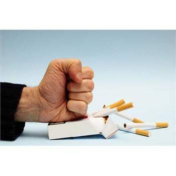 Кожа курящих людей