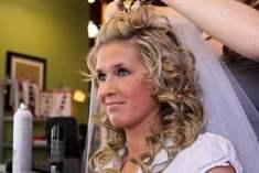 Düğün İçin Modern Saç Stilleri