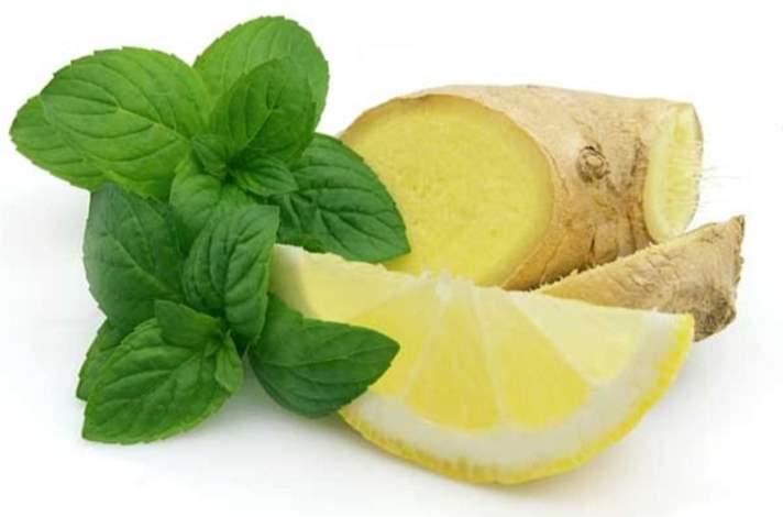 Zencefil ve Limon Suyu