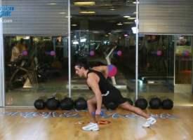 Omuz ve sırt egzersizi